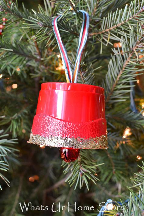 how to make christmas bells at home crafting with ornament storage whats ur home story