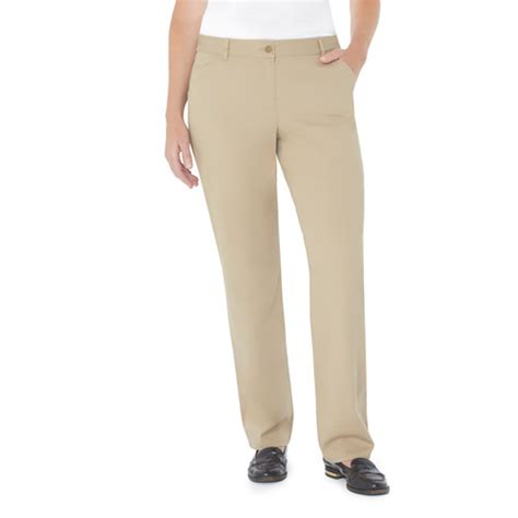 white stag s comfort waist pant walmart