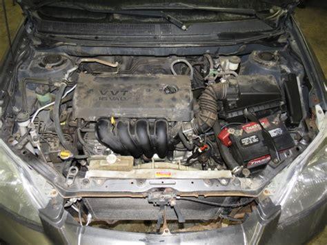 small engine maintenance and repair 2005 toyota matrix regenerative braking 2005 toyota matrix radiator fan assembly 2483490 674 59743d