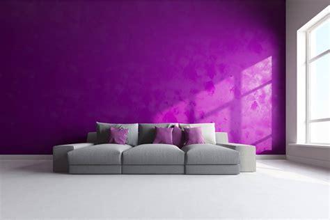decorar paredes de un salon inspiraci 243 n para decorar un sal 243 n lila y gris