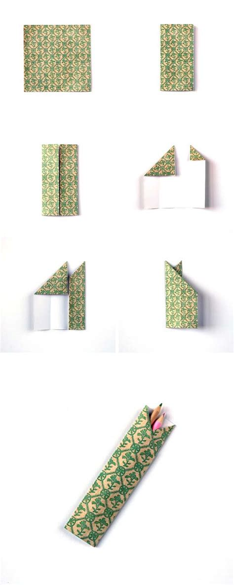 How To Make A Origami Pencil Holder - 40 best diy origami projects to keep your entertained
