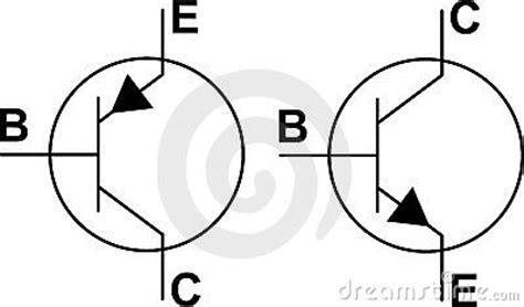 transistor pnp dan transistor npn transistor npn pnp symbols royalty free stock photo image 7180405