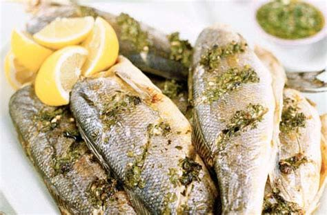 Italian Chef Fish And Real Salt Canister roast sea bass with salsa verde tesco real food