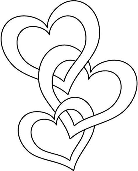 coloring pages of love hearts papers hearts and roses coloring pages printable