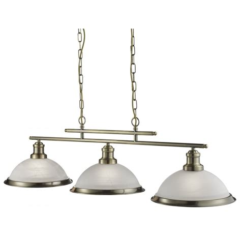 searchlight bistro retro 3 light ceiling bar pendant light