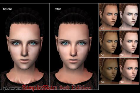 sims 3 default replacement skin mod the sims resolved default light skin replacements