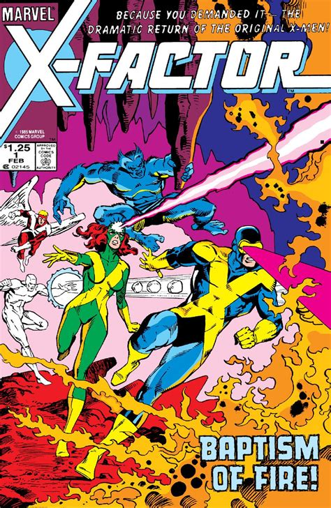 x vol 1 x factor vol 1 1 marvel comics database