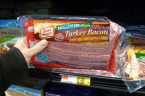 Turkey Bacon Shelf by Bacon In Elk River Mn Bacon Today