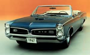 1967 Pontiac Gto Convertible Car And Driver