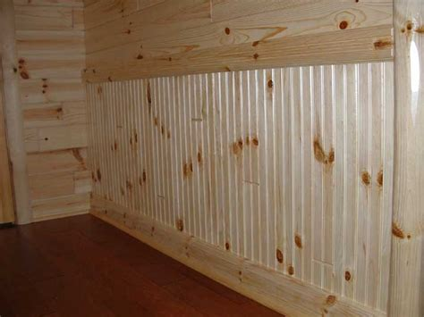 Unfinished Beadboard Paneling - wainscoting