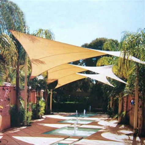 backyard shade sail quictent 13x10 rectangle square outdoor sun shade sail