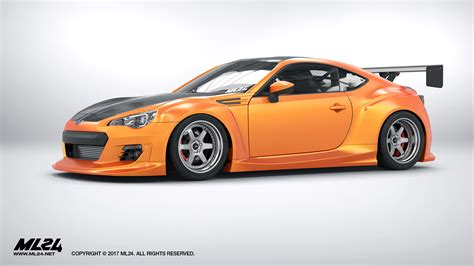 subaru brz kit ml24 version 2 wide kit 2013 brz