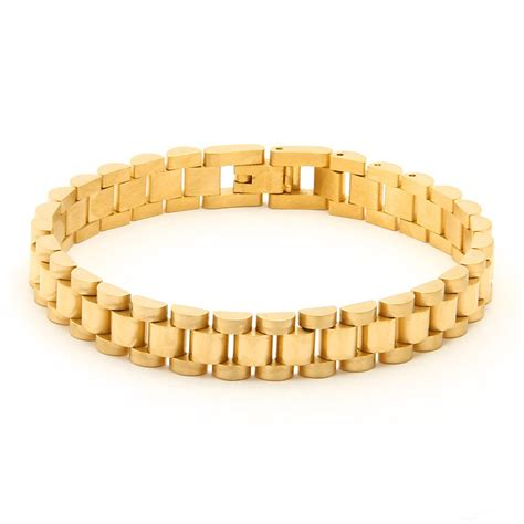 Gold Rolex Link Bracelet ? Street Wear Official