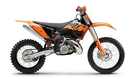 2009 Ktm 200 Xc Review 2009 Ktm 200 Xc W Motorcycle Review Top Speed