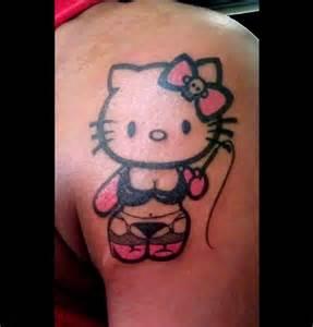sugar skull face tattoo hello dom kitty tattoo mobile ink tattoos pinterest