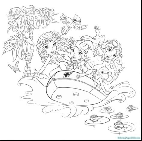 Lego Friends Coloring Pages And Girls And Livi Coloring Where To Find Coloring Books