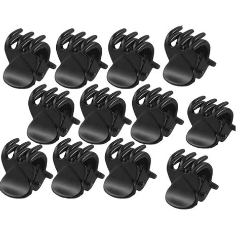 Types Of Hair Grips by 12 X Mini Plastic Hair Claw Cls Bulldog Grips