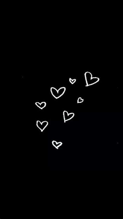 black, hearts, and background image (With images) | Black