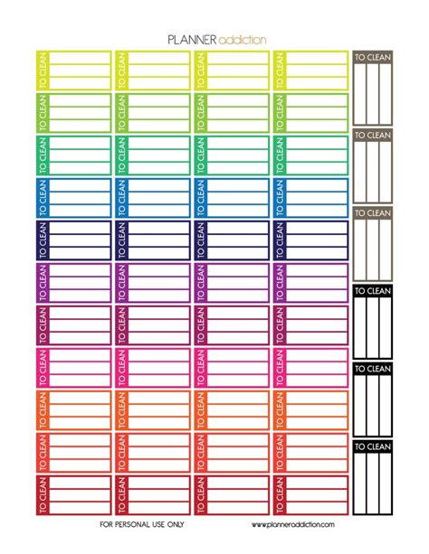 printable planner flags 1000 ideas about free printable stickers on pinterest