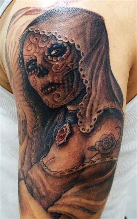 tattoo ideas day of the dead day of the dead tattoo designs tattoo society magazine