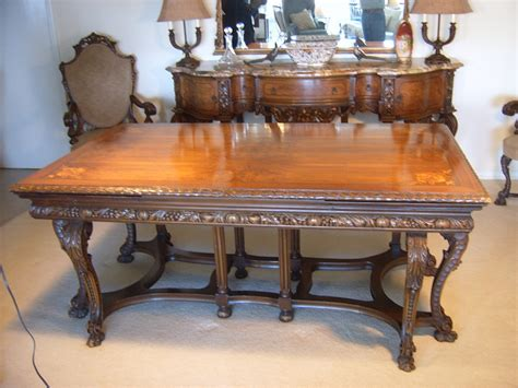 revival dining table renaissance revival dining room suite renaissance dining