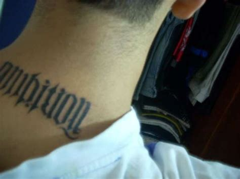 ambition tattoos ambition