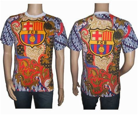 Kaos Barcelona Barcelona 6 muhammad hamsa jual kaos batik barcelona di medan