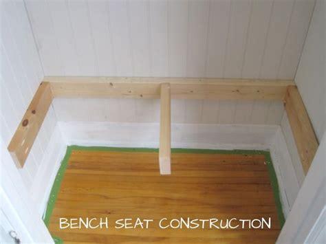 build  bench  cubbies entryway closet