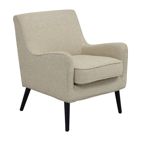 west elm armchair 62 off west elm west elm beige book nook reading