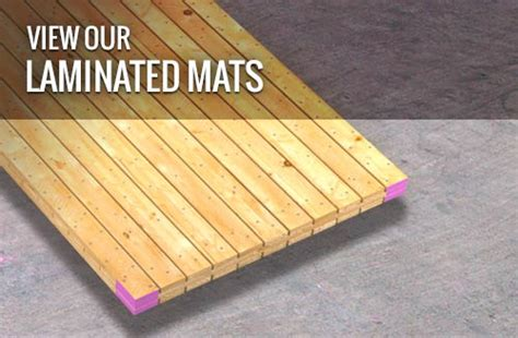 Laminated Mat by Mats For Petrochemical Projects Quality Mat Company