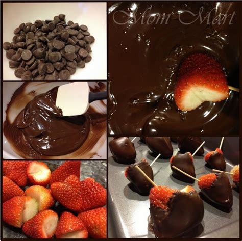 Simply Handmade Chocolates - mart easy chocolate covered strawberries