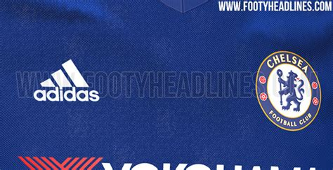 Jersey Chelsea Home 16 17 Original leaked chelsea s home shirt for the 2016 17 season is covered with lions 101 great goals