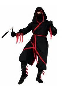 ninja costume adults halloween rogue ninja costume