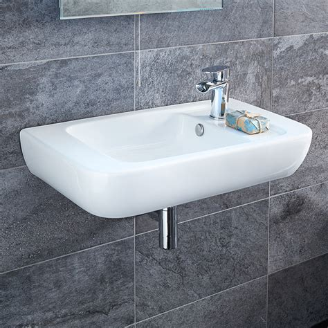 hand basins for bathrooms bellami right hand basin