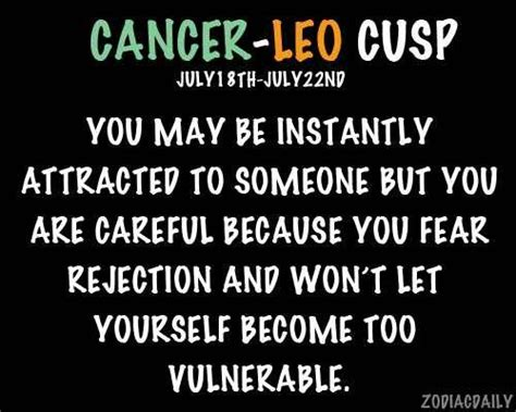 cancer leo cusp zodiac world pinterest