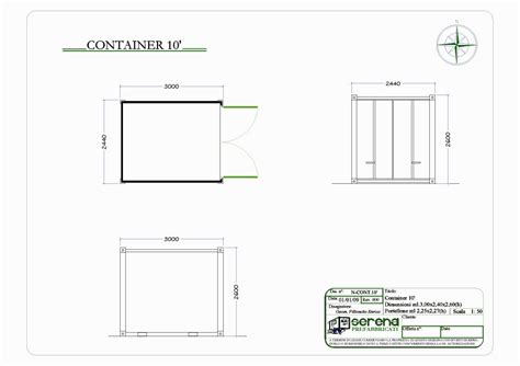 container dimensioni interne serena prefabbricati container 10 post noleggio