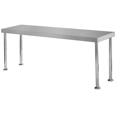 bench over simply stainless bench over shelf 1500x300x450