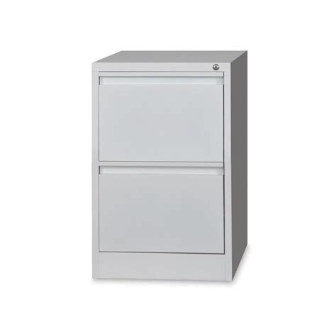 White 2 Drawer Filing Cabinet by Filing Cabinets Klein Business Furniture