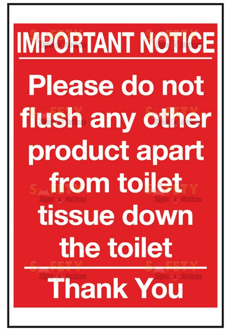 do not flush signs for bathroom july 2012 live learn