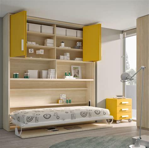 decoracion de dormitorios juveniles peque os literas abatibles soluci 211 n en habitaciones compartidas