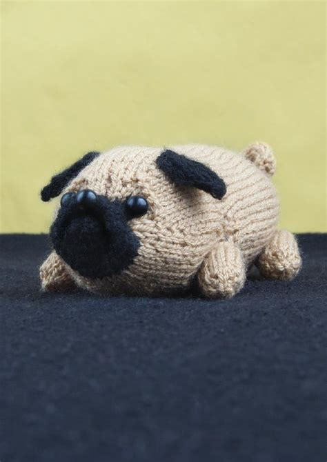 pug knitting pattern jolly the pug knitting pattern by louise walker knitting
