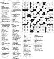 orchestra section crossword the new york times crossword in gothic 05 03 09 a