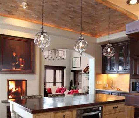 glass pendant lighting for kitchen islands choosing glass pendant lights for kitchen island best home