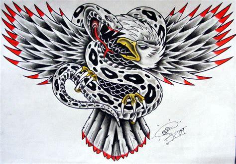 snake n eagle by robert franke on deviantart