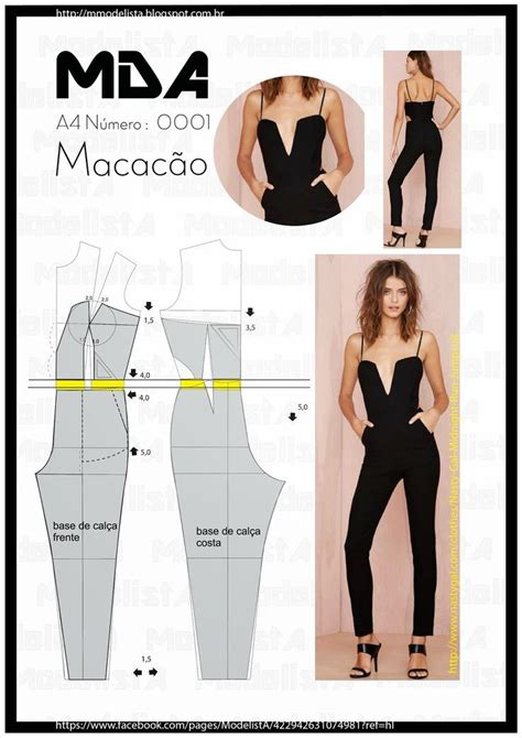 short sleeve jumpsuit 03 2015 115b sewing patterns 2410 best images about diy ubrania on pinterest free