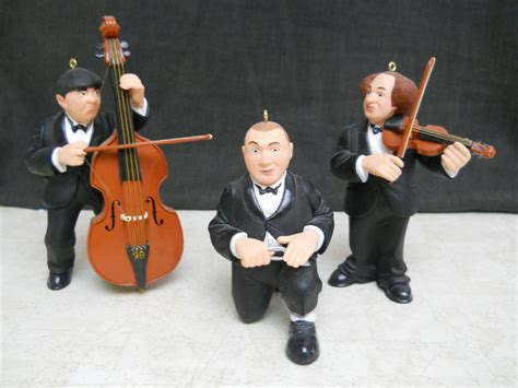 3 stooges hallmark christmas ornaments by malidicus on