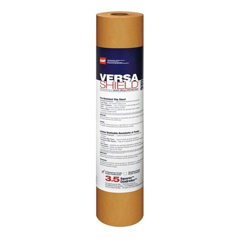 350 sq ft gaf 350 sq ft roll versashield resistant