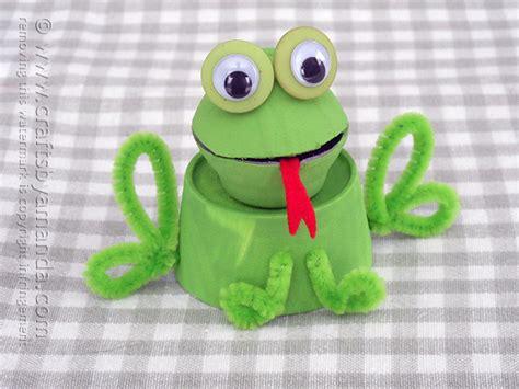 frog craft project egg frog crafts by amanda amandaformaro