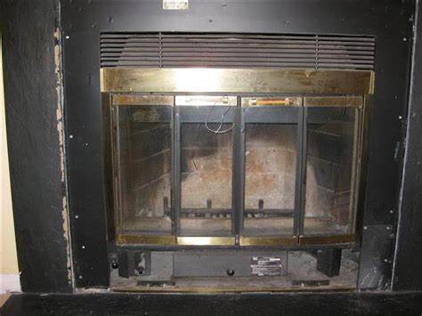 fireplace doors for prefabricated fireplaces updating frame doors for prefabricated fireplace