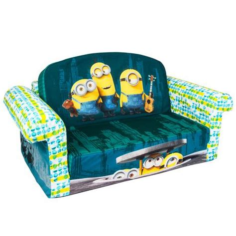 marshmallow fun furniture flip open sofa marshmallow furniture minions flip open sofa walmart ca